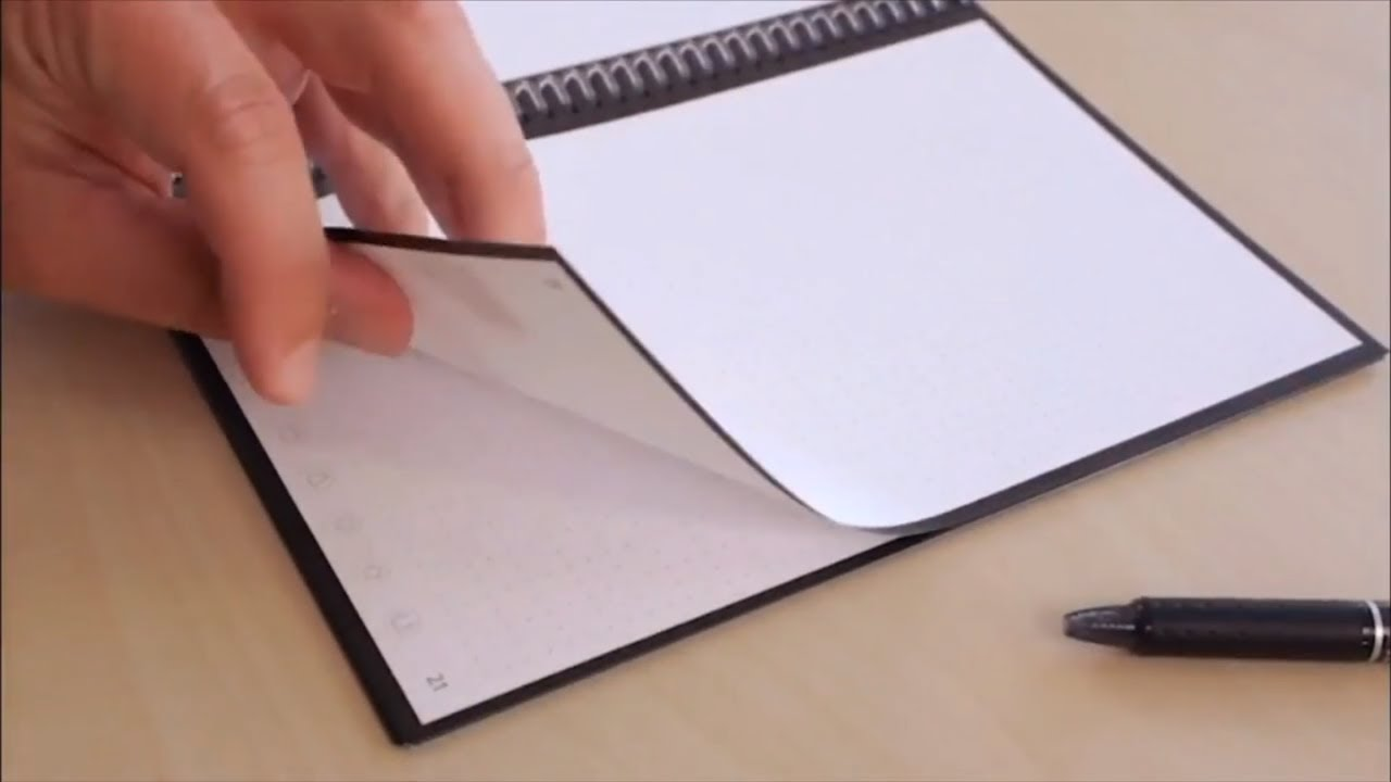 Calligraphic Ink Smart Notebook